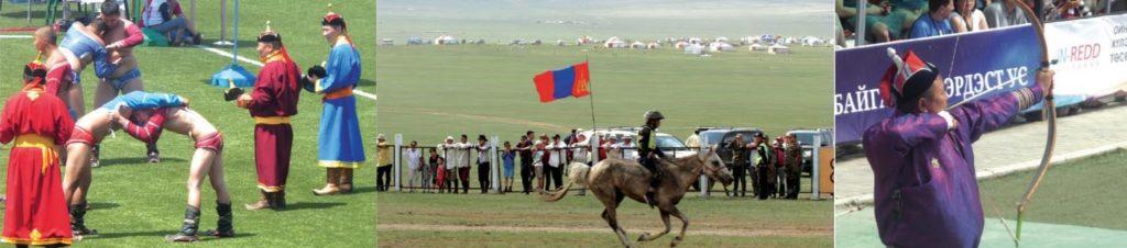 Sport beim Naadamfest