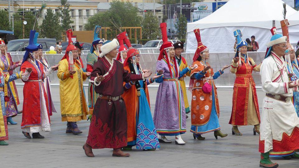 Feier zum Naadamfest