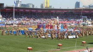 Eröffnungsfestival beim Nadaamfest