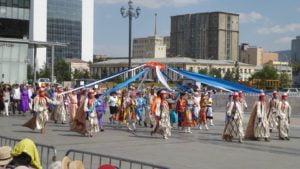 Deeltei Mongol Kostüm Festival in Ulaanbaatar