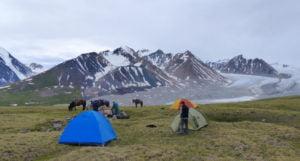 Zelten Altai