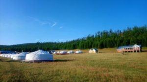 Camp für Touristen,