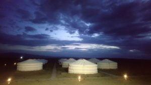 Abends im Camp