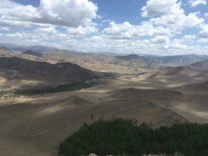 Gebirge in der Mongolei