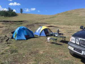 Camping unterwegs
