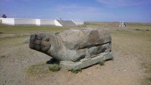 Steinschildkröte bei Karakorum