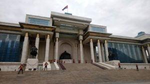 Ulaanbaatar Parlamentsgebäude