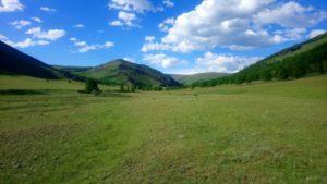 Khangai Gebirge
