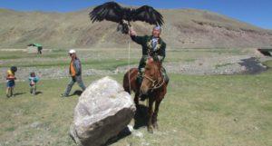 Adlerjäger im Altai