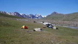 Übernachten im Altai