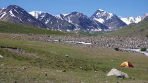 Höhenluft und Camping