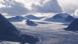 Gletscher im Altaigebirge