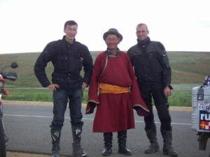 Reisegruppe mit Nomade