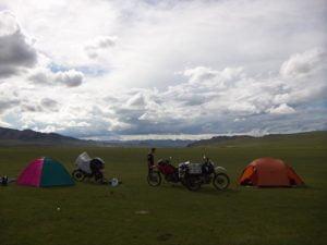 Tour mit Motorrad durch die Mongolei