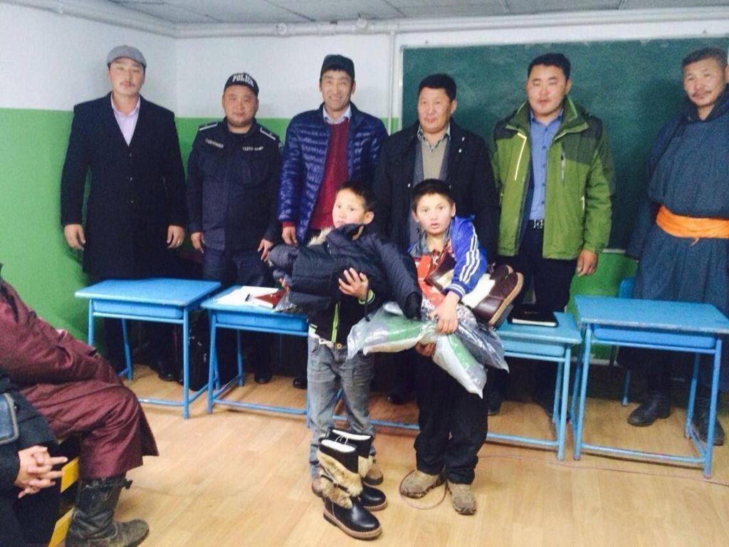 Spende Mongolei
