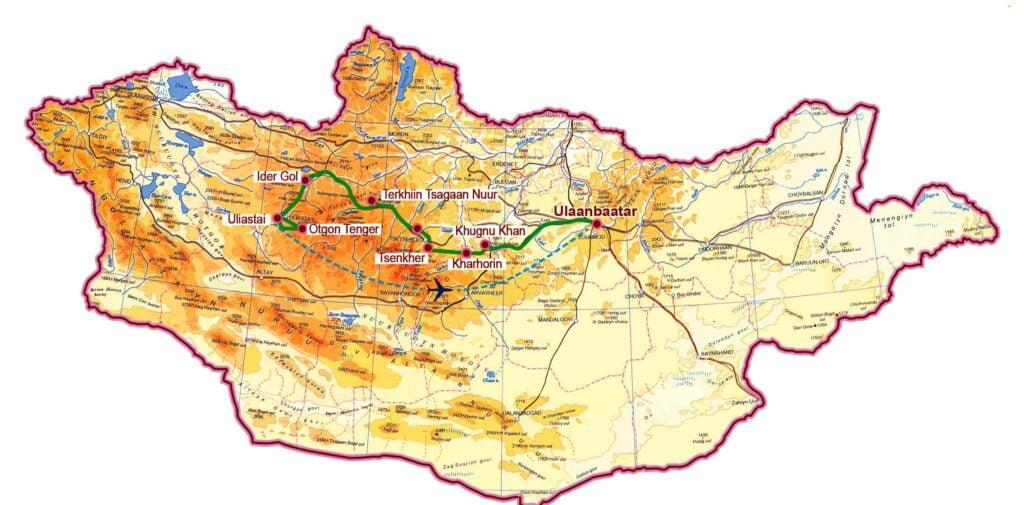 Khangai Gebirge Otgontenger